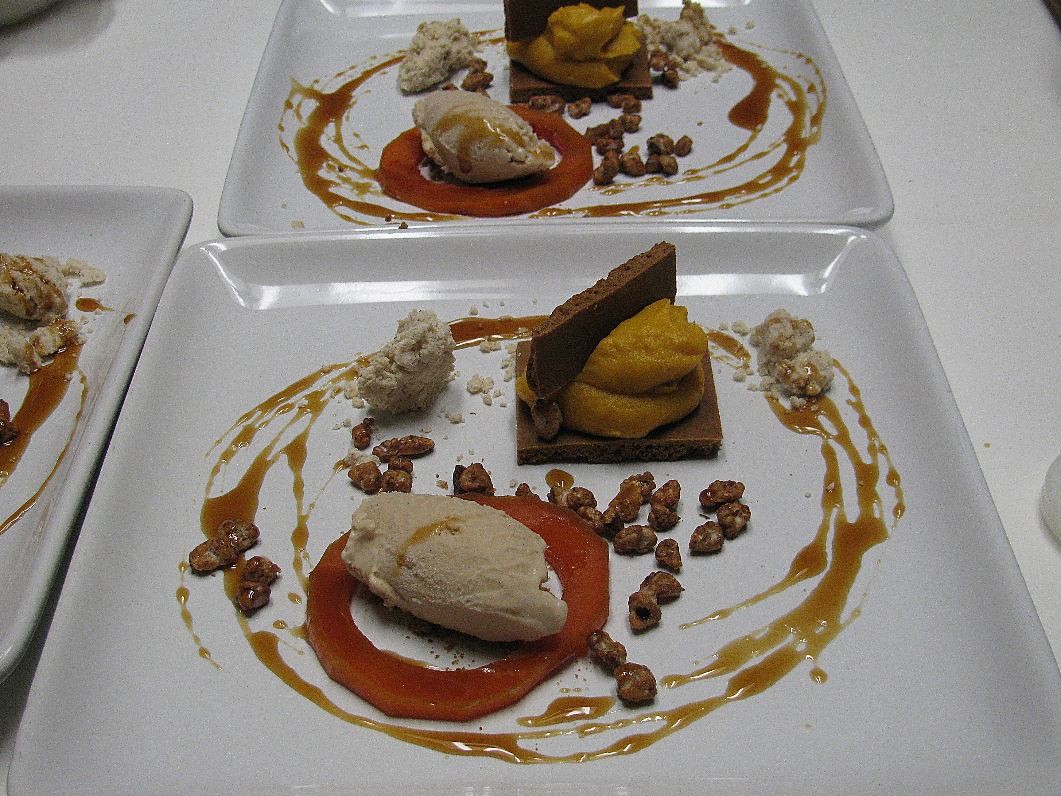 Gingerbread, Pumpkin and Walnut-Pear-Bourbon Ice Cream ...
