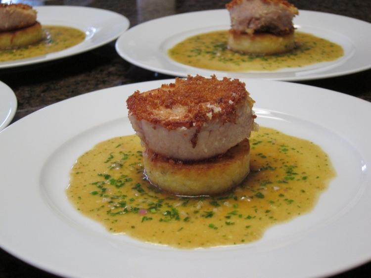 Pork Cheek-Polenta-Glazed Vegetables2
