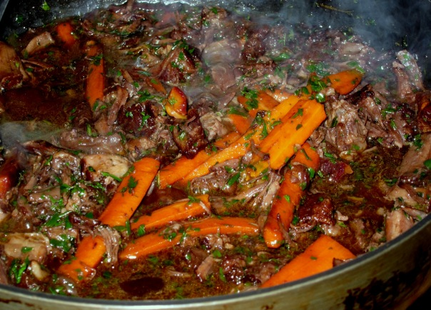 Oxtail-Carrots