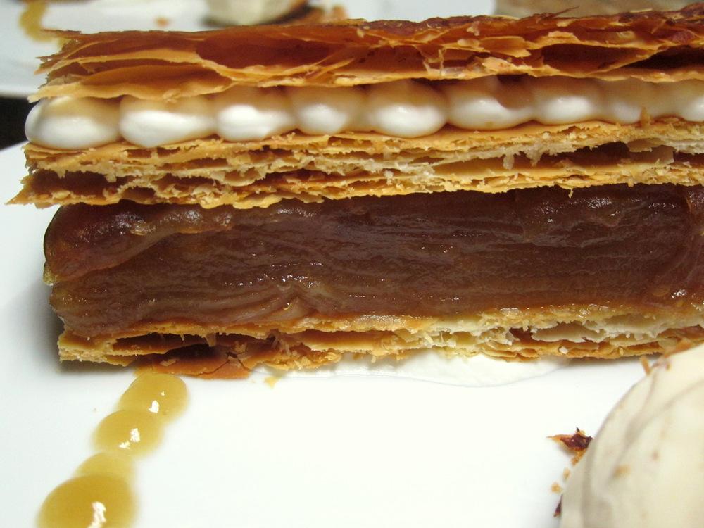 Apple Mille Feuille-Buttermilk Waffle