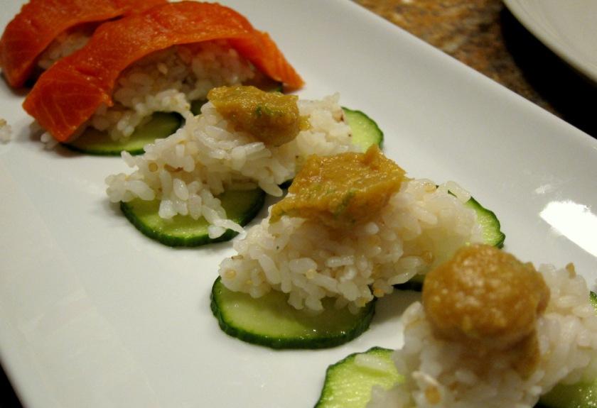 Fish-Grain Rice-Citrus Miso