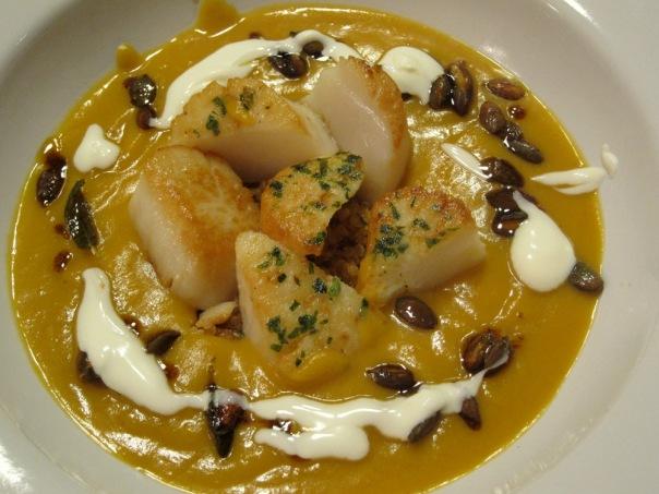 Scallops-Pumpkin-Quinoa