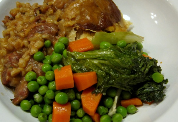 Beef and Guinness Pie-Veg