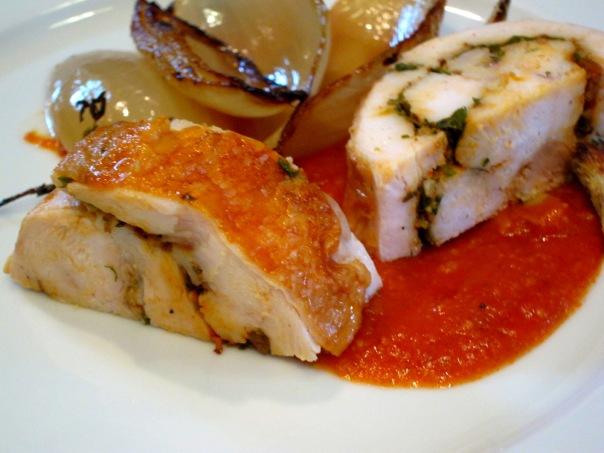 Roulade-Tomato Gravy5
