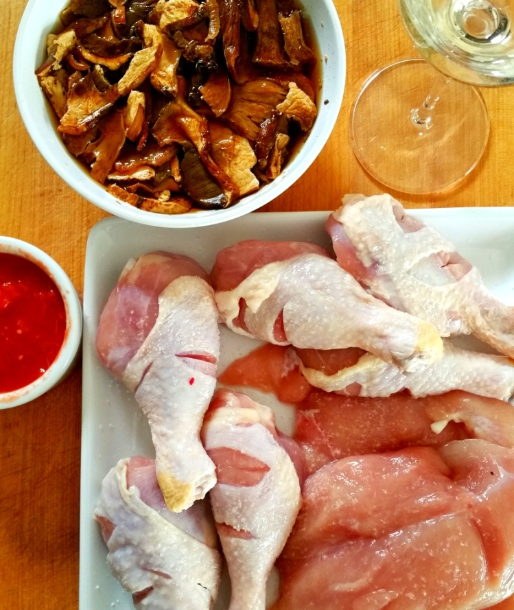 Chicken Porcini Fricasse