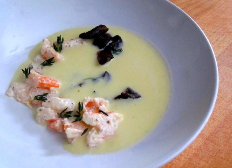 Corn Soup-Shrimp-Mushroom6