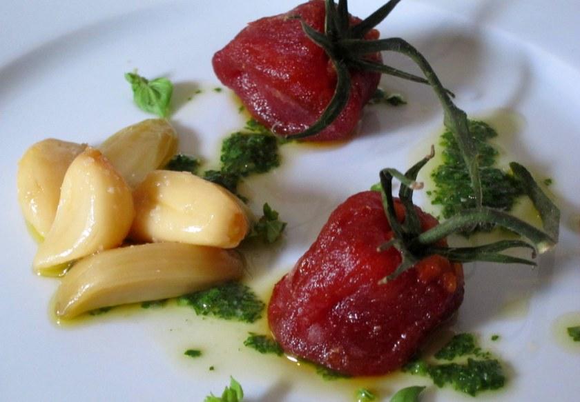 Mugaritz Dried Tomato Salad5