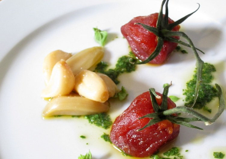 Mugaritz Dried Tomato Salad6