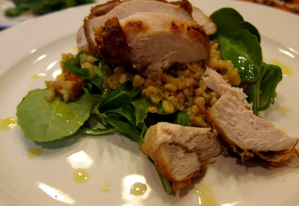 Chicken-Freekeh-Lemon