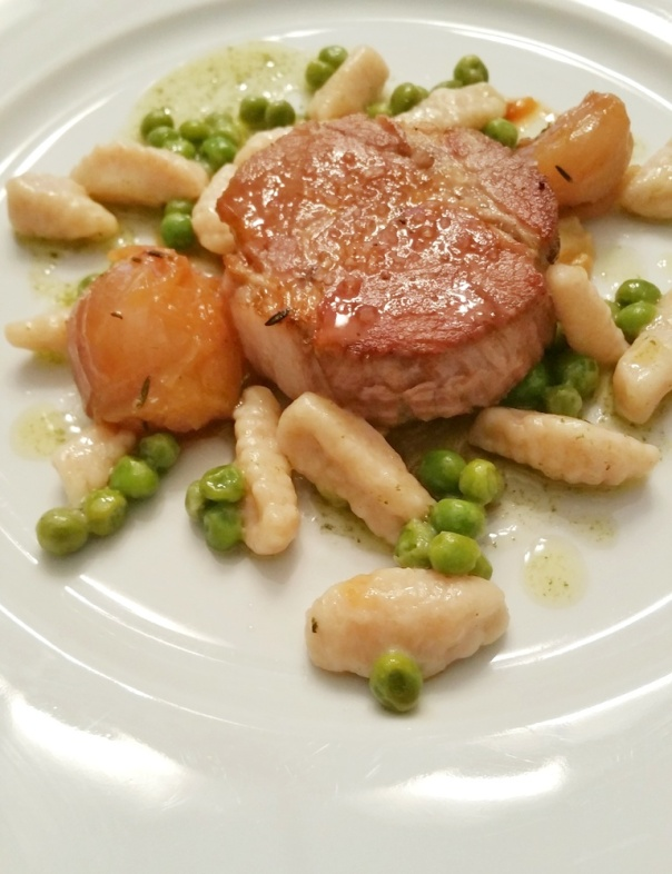 Pork in milk-Ricotta cavatelli