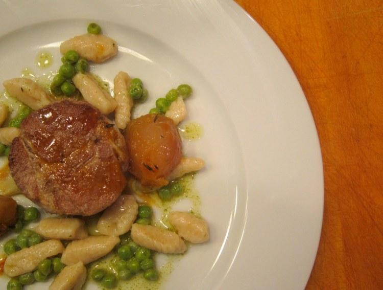Pork in milk-Ricotta cavatelli4
