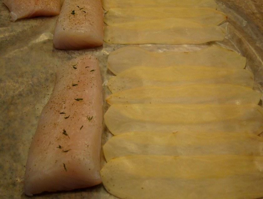 halibut-potato