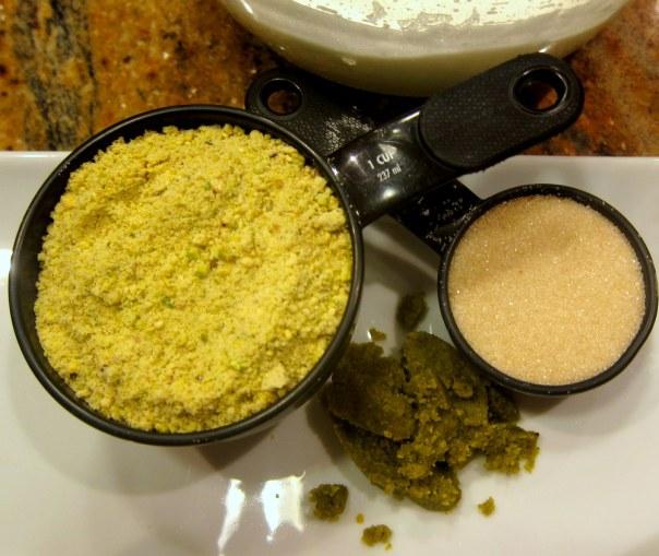 pistachio-dacquoise