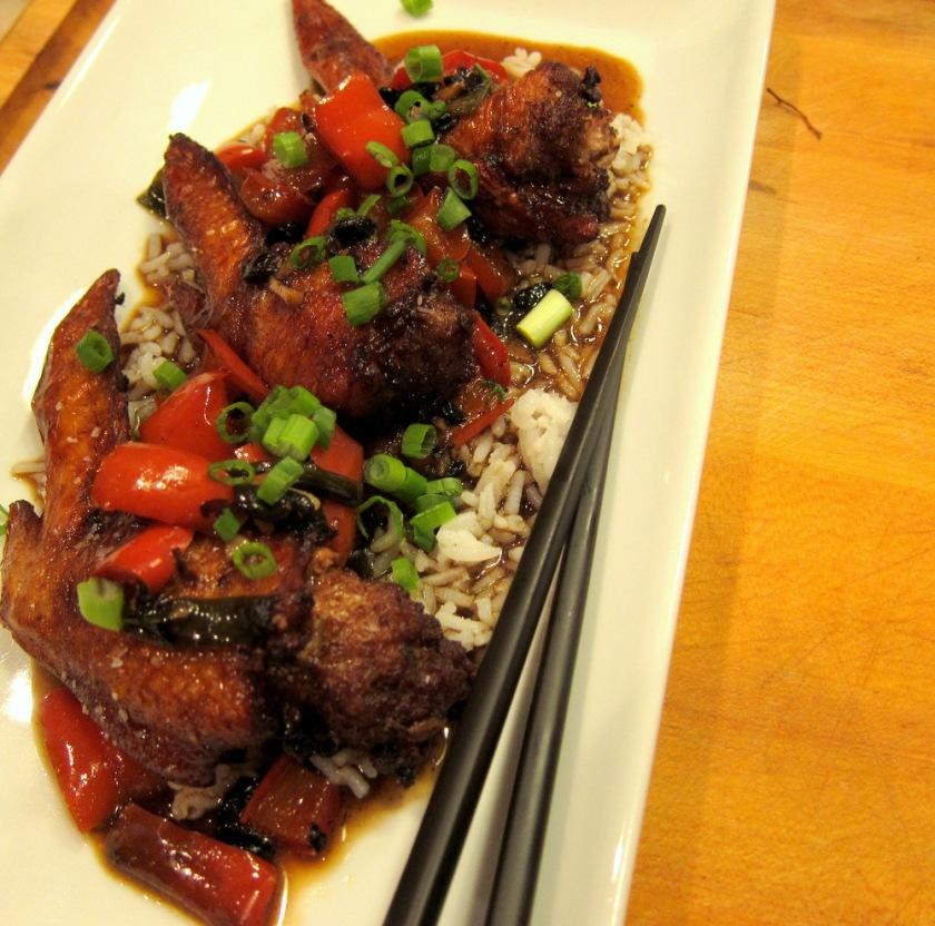 Stuffed Chicken Wings-Black Bean Sauce3