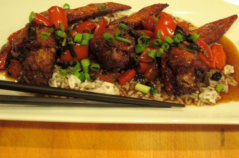 Stuffed Chicken Wings-Black Bean Sauce4